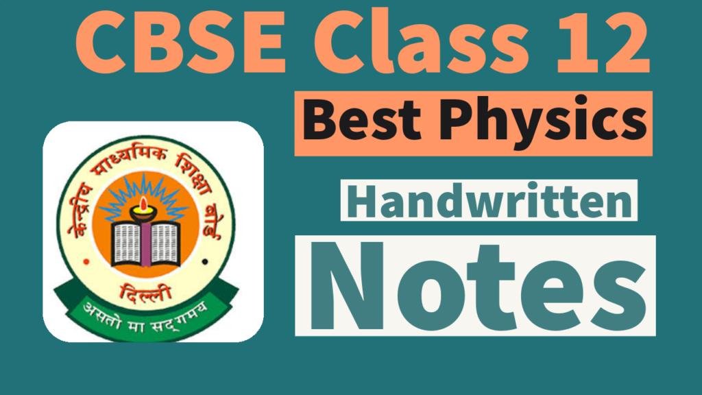 physics class 12